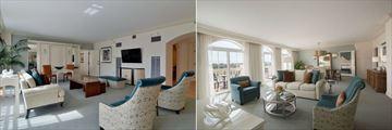 Loews Portofino Bay Hotel at Universal Orlando, Hospitality Parlour Suite and Villa Parlour Suite