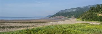 Long Beach Fundy Trail in New Brunswick