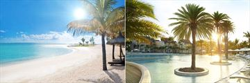 LUX Belle Mare, Beach and Pool