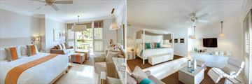 LUX Belle Mare, Junior Suite and LUX Honeymoon Suite
