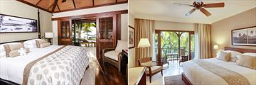 LUX Le Morne, Ocean Junior Suite and Superior Room