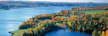 Mactaquac in the autumn in New Brunswick