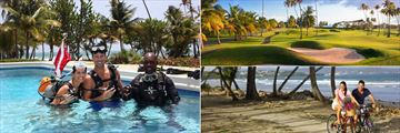 Magdalena Grand Beach & Golf Resort, Diving, Golf and Cycling
