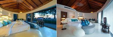 Mai Khao Lak Beach Resort & Spa, Mai Pool Villa Sea View and Mai Villa Garden View