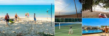 Mai Khao Lak Beach Resort & Spa, Water Activities, Beach Volleyball, Kayaking, Water Aerobics and Tennis