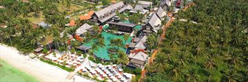 Mai Samui, Koh Samui, Aerial View of Resort