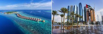 Hurawalhi Island Resort, Maldives and  Park Hyatt Abu Dhabi Hotel & Villas