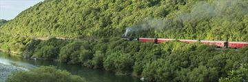 Manawatu Gorge steam train