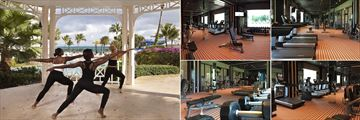 Yoga and the Gym at Melia Nassau Beach All Inclusive