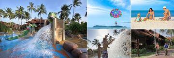 Kids' Pool, Parasailing, Family Beach, Cycling and Kids' Pool at Meritus Pelangi Beach Resort & Spa