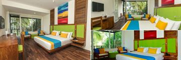 Mermaid Hotel & Club, Kalutara, (clockwise from left): Premium Sea View Room, Superior Room and Sea View Room