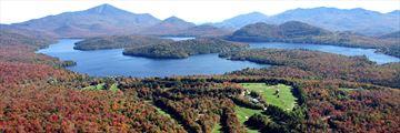 Mirror Lake Inn Resort and Spa, Aerial Resort View