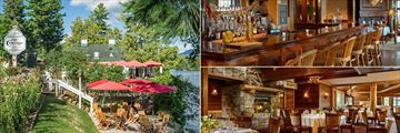 The Cottage Restaurant, Taste Bistro & Bar and The View Restaurant at Mirror Lake Inn Resort and Spa