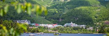 Mont Tremblant in the summer, Quebec