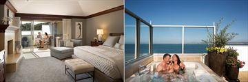 Monterey Plaza Hotel & Spa, Spa Terrace Suite