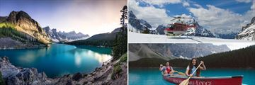 Banff National Park's Moraine Lake & Helicopter Tours