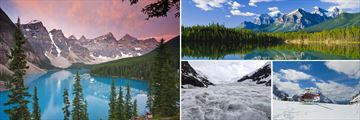 Moraine Lake in Banff, the Columbia Icefield & Helicopter Tour
