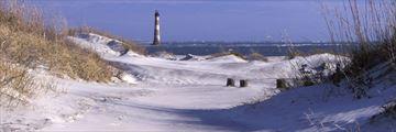 Morris Island Lighthouse near Charlotte, South Carolina