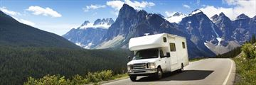 Motorhome holidays in Banff National Park, Alberta