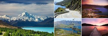 Mount Cook & Queenstown, South Island
