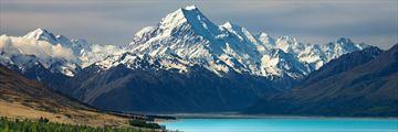 Mount Cook, Lake Pukaki