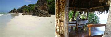 Beach and Beach Massage at Msambweni Beach House & Private Villas