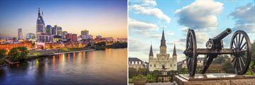 Nashville & New Orleans