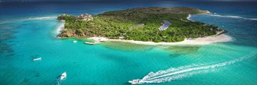 Necker Island, Aerial View