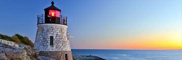 Newport lighthouse, Rhode Island