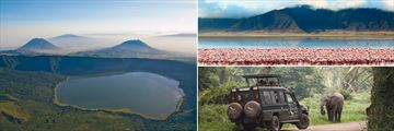 Ngorongoro crater & wildlife