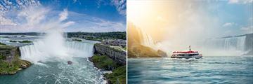 Boat tour of Niagara Falls, Canada