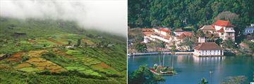 Nuwara Eliya landscapes & Temple of the Sacred Tooth