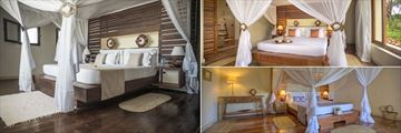 Coral Villa Bedroom and Two Suite Bedrooms at Ocean Spa Lodge
