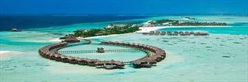 Olhuveli Beach & Spa Resort, Aerial View of Resort