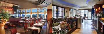 Prime Meridian Restaurant and Morsels Cafe at Omni Atlanta Hotel at CNN Center