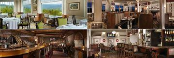 Omni Mount Washington Resort, Main Dining Room, Stickney's Steak & Chop Pub, Rosebrook Bar and The Cave