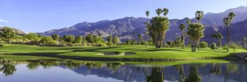 Sprawling golf courses in Palm Springs
