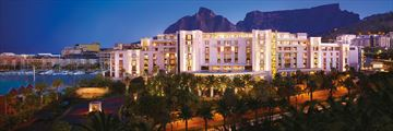 One&Only Cape Town, Hotel Exterior at Night