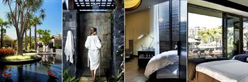 One&Only Cape Town, Spa Gardens, Spa Shower, Pedicure Treatment Room and Outdoor Therapy Room