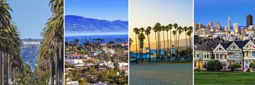 Optional Excursions to Los Angeles, Santa Barbara & San Francisco