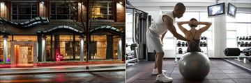 Opus Hotel Vancouver, Exterior and Fitness Centre