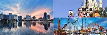Orlando Skyline, Walt Disney World Resort and Universal's Island of Adventure
