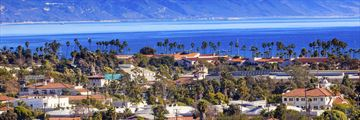Santa Barbara coastline, California