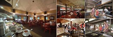 Outback Pioneer Hotel, Dining Options