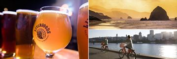 Beer, cycling and views in Portland