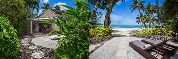 Premium Garden Villa Exterior and Premium Three Bedroom Villa Exterior at Pacific Resort Rarotonga