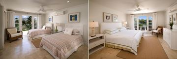 Pandora, Twin Bed and Double Bed