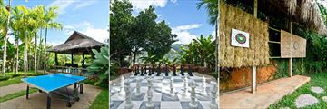 Panviman Resort Chiang Mai, Table Tennis, Giant Chess and Archery