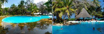 Pool and Pool Bar at Papillon Lagoon Reef