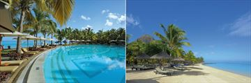 Paradis Beachcomber Golf Resort & Spa, Pool and Beach